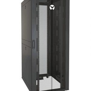 Vertiv VR3150SP rack cabinet 42U Freestanding rack Black, Transparent