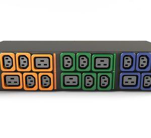 Vertiv Geist GI30107L power distribution unit (PDU) 18 AC outlet(s) 2U Black, Blue, Green, Orange