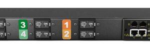 Vertiv Geist GI30074L power distribution unit (PDU) 6 AC outlet(s) 1U Black