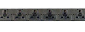 Vertiv EGVHVRN082-102UKLPS6-IP44 power distribution unit (PDU) 8 AC outlet(s) Black